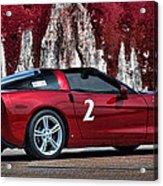 2008 Corvette Acrylic Print