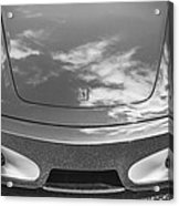 2008 Ferrari F430 Bw Acrylic Print