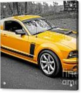 2008 Ford Mustang Rausch Supercharged Acrylic Print