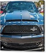 2008 Ford Shelby Mustang Gt500 Kr Painted Acrylic Print