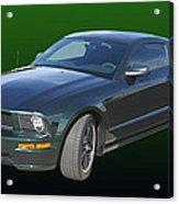 2008 Mustang Bullitt Acrylic Print