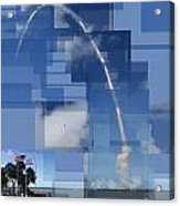 2008 Space Shuttle Launch Acrylic Print