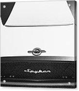 2009 Spyker C8 Laviolette Lm85 Grille Emblem Acrylic Print