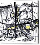 2010 Abstract Drawing 27 Acrylic Print