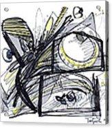 2010 Abstract Drawing 28 Acrylic Print