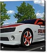 2010 Camaro Indy Pace Car Acrylic Print