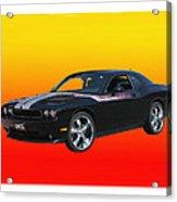 2010 Dodge Challenger Acrylic Print