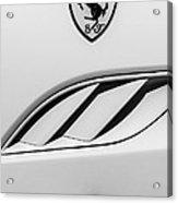 2010 Ferrari California Side Emblem Acrylic Print