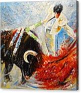 2010 Toro Acrylics 02 Acrylic Print