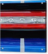 2011 Dodge Challenger Rt Hemi Taillight Emblem Acrylic Print