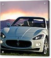 2011 Maserati Gran Turismo Convertible I Acrylic Print