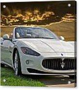 2011 Maserati Gran Turismo Convertible II Acrylic Print