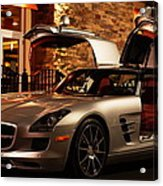 2011 Mercedes-benz Sls Amg Gullwing Acrylic Print