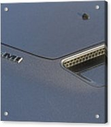 2012 Challenger Classic Dodge Acrylic Print