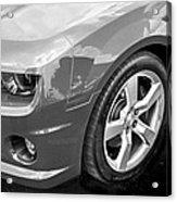 2012 Chevy Camaro Ss Bw Acrylic Print