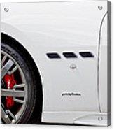 2012 Maserati Gran Turismo S Acrylic Print