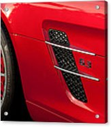 2012 Mercedes-benz Sls Gullwing Wheel Acrylic Print