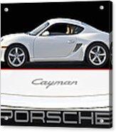 2012 Porsche Cayman R Acrylic Print
