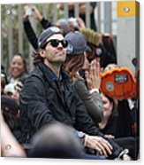 2012 San Francisco Giants World Series Champions Parade - Barry Zito - Img8206 Acrylic Print