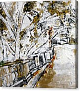 2013 007 Road To The Arlington Memorial Bridge Acrylic Print