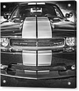 2013 Dodge Challenger Srt Bw Acrylic Print