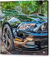 2013 Ford Shelby Mustang Gt 5.0 Convertible Painted   Acrylic Print