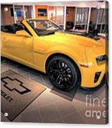 2014 Camaro Convertible Acrylic Print
