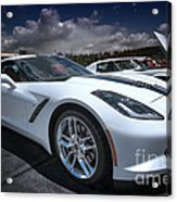 2014 Chevrolet Stingray Acrylic Print