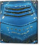 2014 Porsche 911 Carrera S Blue Acrylic Print