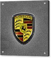 2014 Porsche Cayman S  Logo Acrylic Print