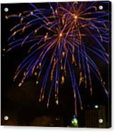 2014 Three Rivers Festival Fireworks Fairmont Wv 1 Acrylic Print