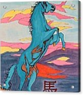 2014 Year Of The Horse Acrylic Print