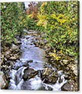 201409290-050 Hudson River Origin 2x3 Acrylic Print