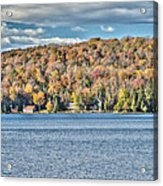 201410020-036d1 Autumn Forest North Shore Hdr1 2x3 Acrylic Print