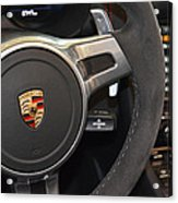 2015 Porche Boxster Gts Wheel Acrylic Print