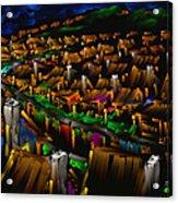 204 Rainbow Lane - The American Dream Acrylic Print