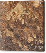 Natures Rock Art Acrylic Print