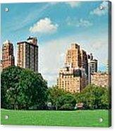 Central Park Spring Acrylic Print