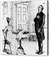 Scene From Pride And Prejudice By Jane Austen Acrylic Print