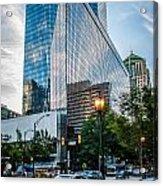 Skyline Of Uptown Charlotte North Carolina Acrylic Print