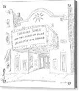 New Yorker May 26th, 2008 Acrylic Print