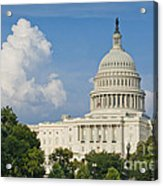 Us Capitol Building Acrylic Print