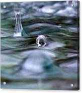 Australia - Cyclonic Raindrop Acrylic Print