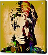 David Bowie Collection Acrylic Print