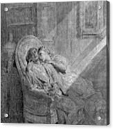 Dor� The Raven, 1882 Acrylic Print