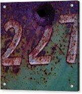227 Acrylic Print