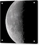 23 Day Old Waning Moon Acrylic Print