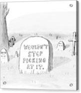 New Yorker October 16th, 2006 Acrylic Print