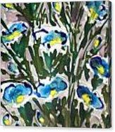 Zenmoksha Flowers Acrylic Print