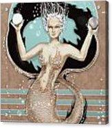 24x36 Choose Mermaid Acrylic Print